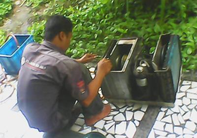 manfaat service ac