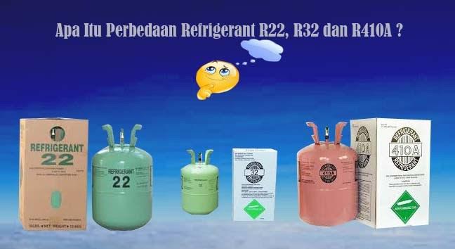Perbedaan Refrigerant Freon